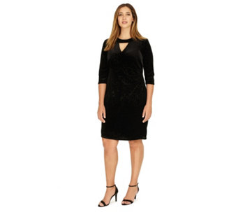 Studio 8 by Phase Eight Natasha Sparkle Velvet Dress - 170858