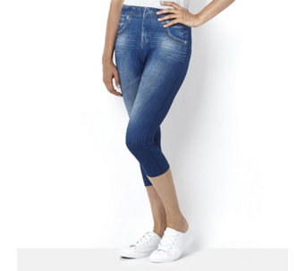 Slim 'n Lift Capri Caresse Jeans - 155861