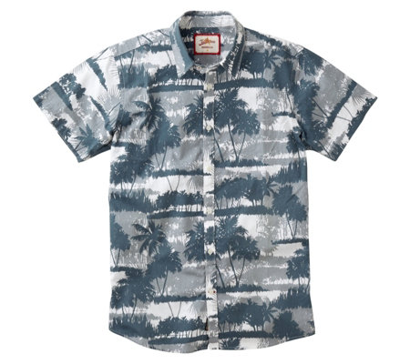 Joe Browns Men's Grey Scale Tropics Shirt