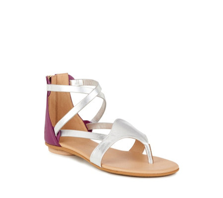 Emu Coda Leather Strappy Toe Post Sandal