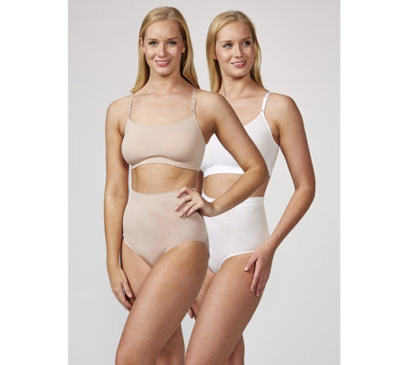 Vercella Vita Light Control Bustier with Skinny Straps Pack of 2