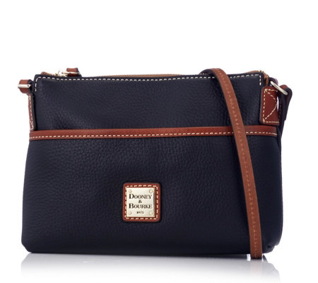 Dooney & Bourke Pebble Ginger Leather Crossbody Bag