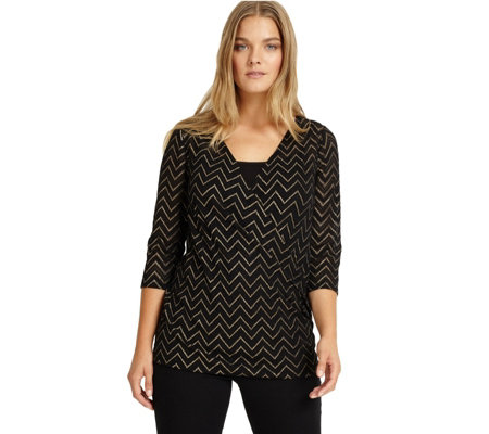 Studio 8 by Phase Eight Milly Wrap Top with Detachable Cami