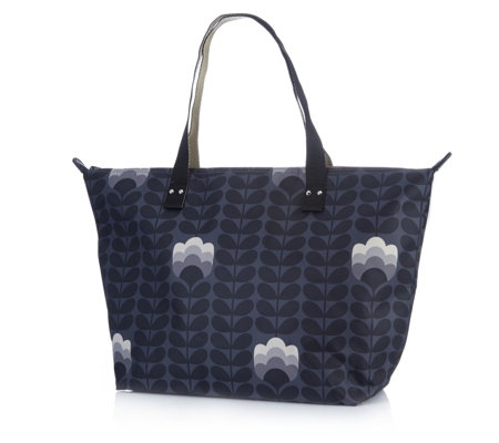 Orla Kiely Buttercup Stem Zip Shopper Bag