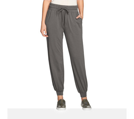 Anybody Loungewear Cropped Banded Jogger