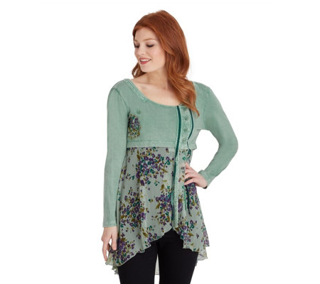 Joe Browns Green Goddess Tunic