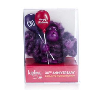 Kipling Happy 30th Anniversary Collectable Monkey in Gift Box - 167764
