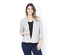 Betty & Co Open Knit 3/4th Sleeve Cardigan - 162069