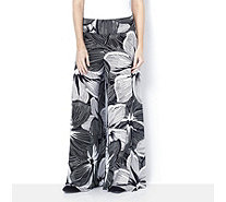 Coco Bianco Floral Printed Palazzo Trouser - 163469