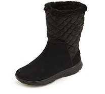 Skechers On the GO Snuggly Suede Mid Top Boot with Faux Fur - 161170