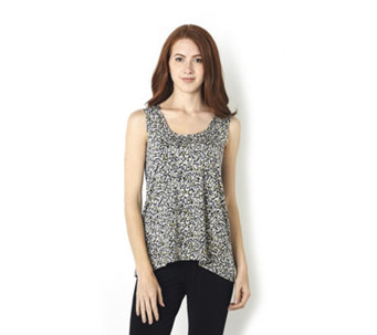 Kim & Co Print Venechia Jumping Beans Sleeveless Top - 165370