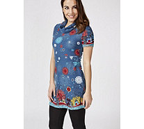 Joe Browns Short Sleeve Cat Tunic - 171770