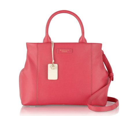 Radley London Dockland Medium Leather Multi-Compartment Tote Bag ...