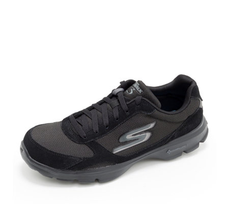 Skechers Go Walk 3 Lace Up Trainer With Goga Mat