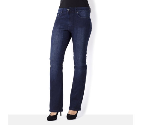 Diane Gilman Superstretch Regular Length Bootcut Jean
