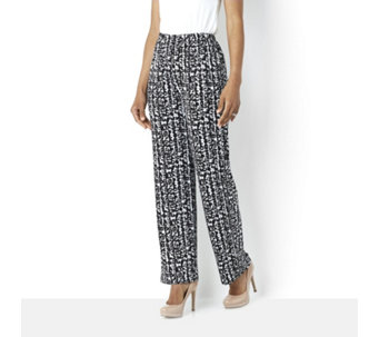 Antthony Designs Printed Jersey Trouser - 159172