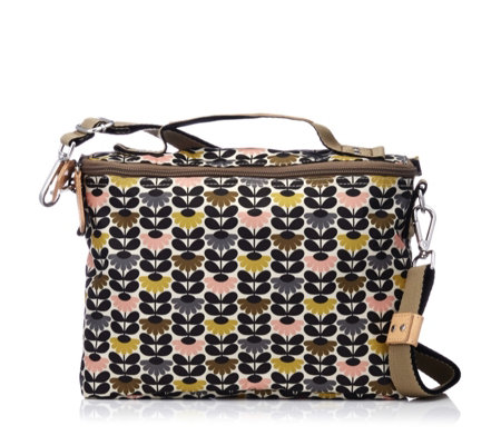 Orla Kiely Mini Wild Daisy Printed Box Bag