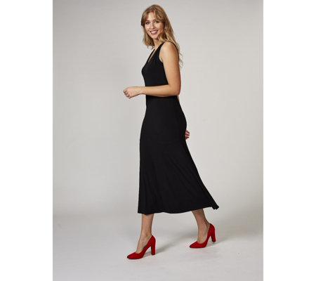 Kim & Co Brazil Knit Sleeveless Maxi Dress