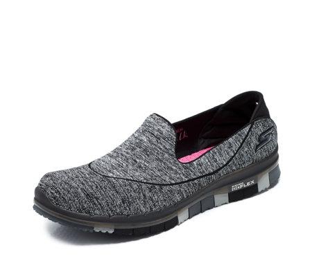 Skechers Go Flex Walk Slip On Shoe With Goga Mat