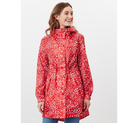 Joules Go Lightly Waterproof Pack-Away Parka