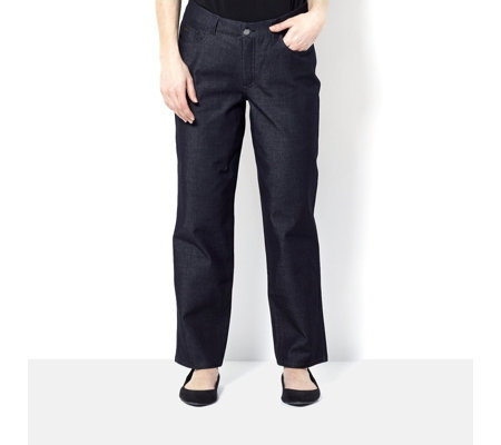 H by Halston Studio Stretch 5 Pocket Petite Jeans