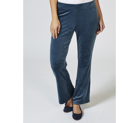 Anybody Velour Flare Trousers