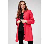 Helene Berman Scallop Edge To Edge Jacket - 172176