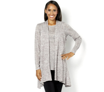 Kim & Co Soft Linen Look Knitted Two Piece Set - 160277