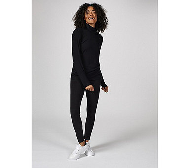Cuddl Duds Fleecewear Triple Stitch Leggings - 166877