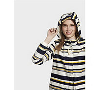 Joules Haven Printed Waterproof Hooded Jacket - 168878