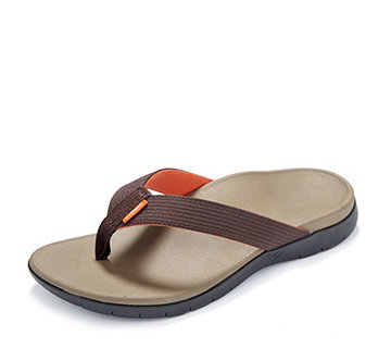Vionic Orthotic Men's Islander Flip Flop with FMT Technology - 163679