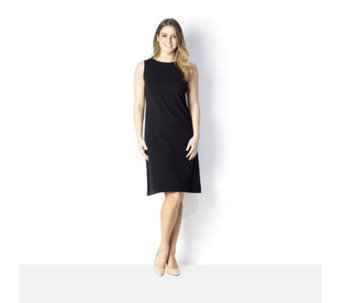 Women with Control Jersey Tank Dress - 165179