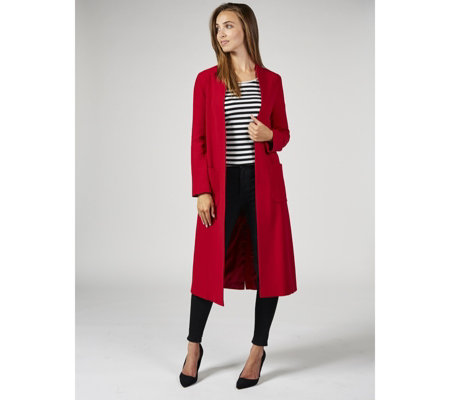Helene Berman Edge To Edge Longline Throw On Coat