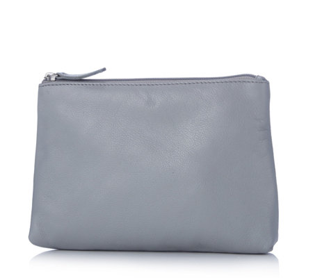 Amanda Lamb Leather Cosmetic Purse