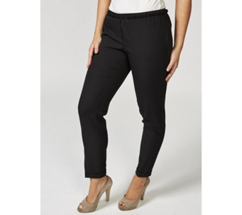 Betty & Co Elasticated Gather Detail Trousers - 169680