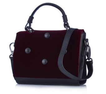 Peter Kaiser Esma Velvet Leather Bag - 166481