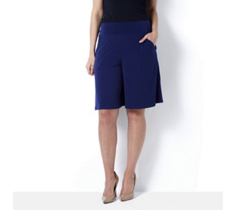 Kim & Co Brazil Knit Culottes with Pockets - 163982