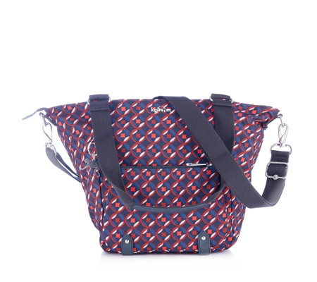 Kipling Itaya Large Love Mondays Shoulder Bag with Detachable Strap