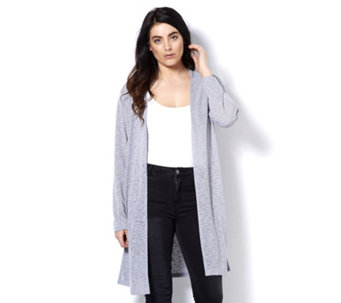 Mr Max Milano Knit Duster Cardigan with Side Vents - 164983
