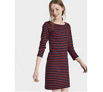 Joules Riviera 3/4 Sleeve Jersey Dress - 168883
