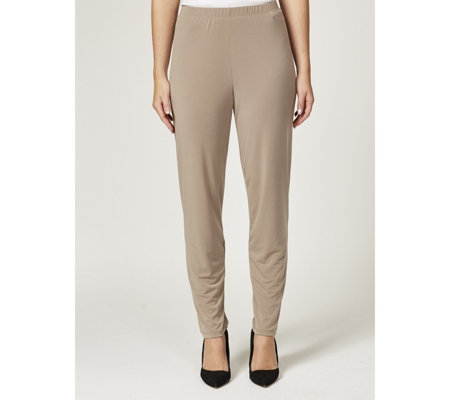 Kim & Co Brazil Knit Narrow Leg Petite Trousers