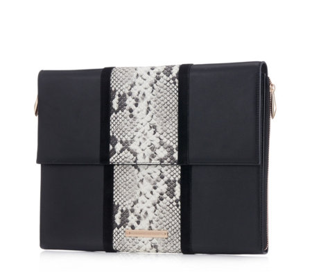 Amanda Wakeley The Willis Leather Tech Wallet