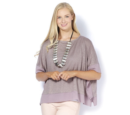 MarlaWynne Mix Media Poncho
