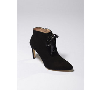 Jaclyn Ribbon Tie Ankle Boot - 167185
