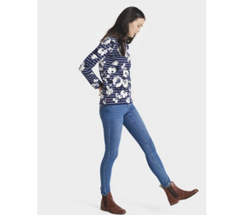 Joules Harbour Printed Jersey Top - 168885