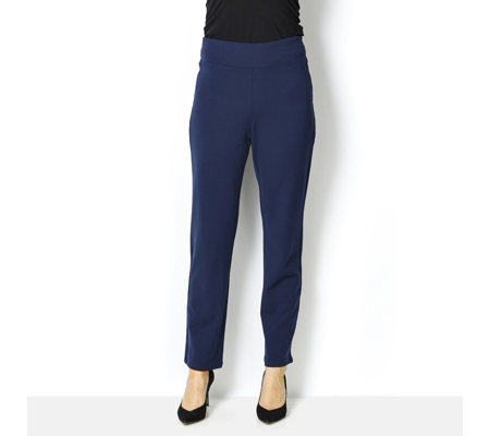 Kim & Co Milano Knit Narrow Leg Trousers