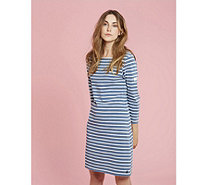 Joules Riviera Saltwash 3/4 Sleeve Jersey Dress - 168886