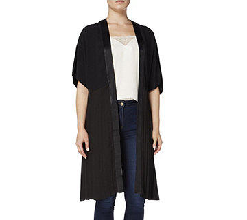 Biba Kimono Sleeve Pleat Back Detail Jacket - 164887