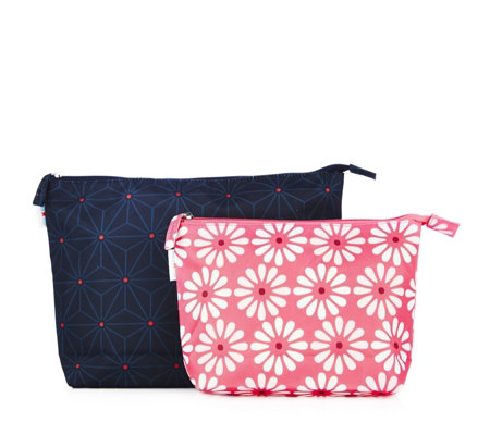 Mia Tui Gem Beaus Large & Small Cosmetic Bags