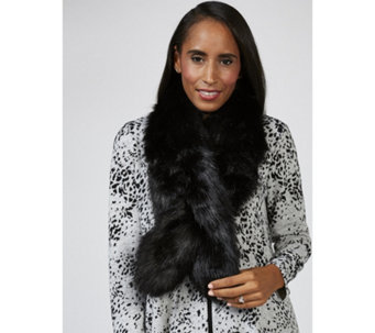 Kim & Co Faux Fur Long Collar - 166588